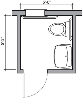Bathroom Floor Plan ...