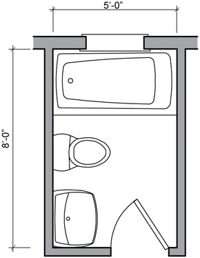 Bathroom floor plans bathroom floor plan design gallery for Bathroom designs 12x8